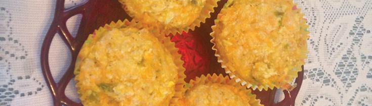 Cauliflower-Jalapeno Muffins