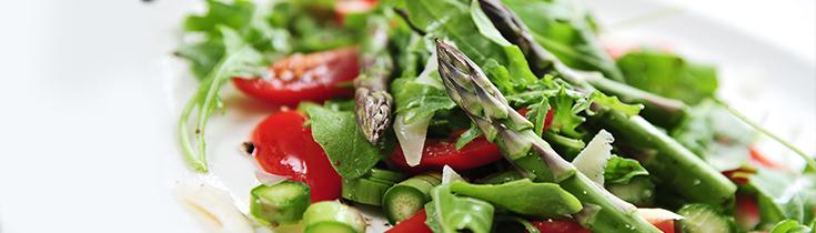 Asparagus and Tomato Salad Photo